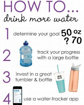 Cara Minum Air Banyak!!