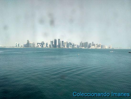 Qatar a traves de cristales sucios