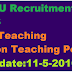 GNDU Recruitment 2016 Apply for 169 Teaching & Non Teaching Posts