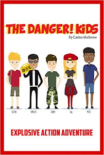 The DANGER! Kids Explosive Action Adventure Kindle