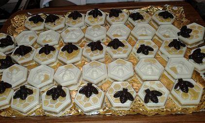 طريقة تحضير حلوة خلية النحل بالشوكولاتة و الكوكو