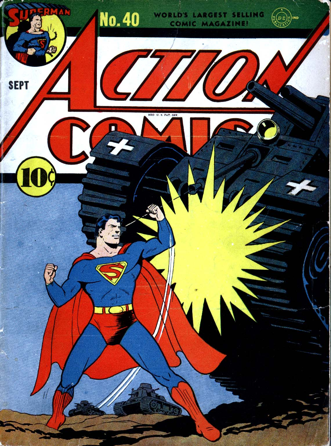Read online Action Comics (1938) comic -  Issue #40 - 1