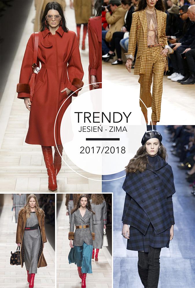 moda trendy na jesien i zime 2017/2018