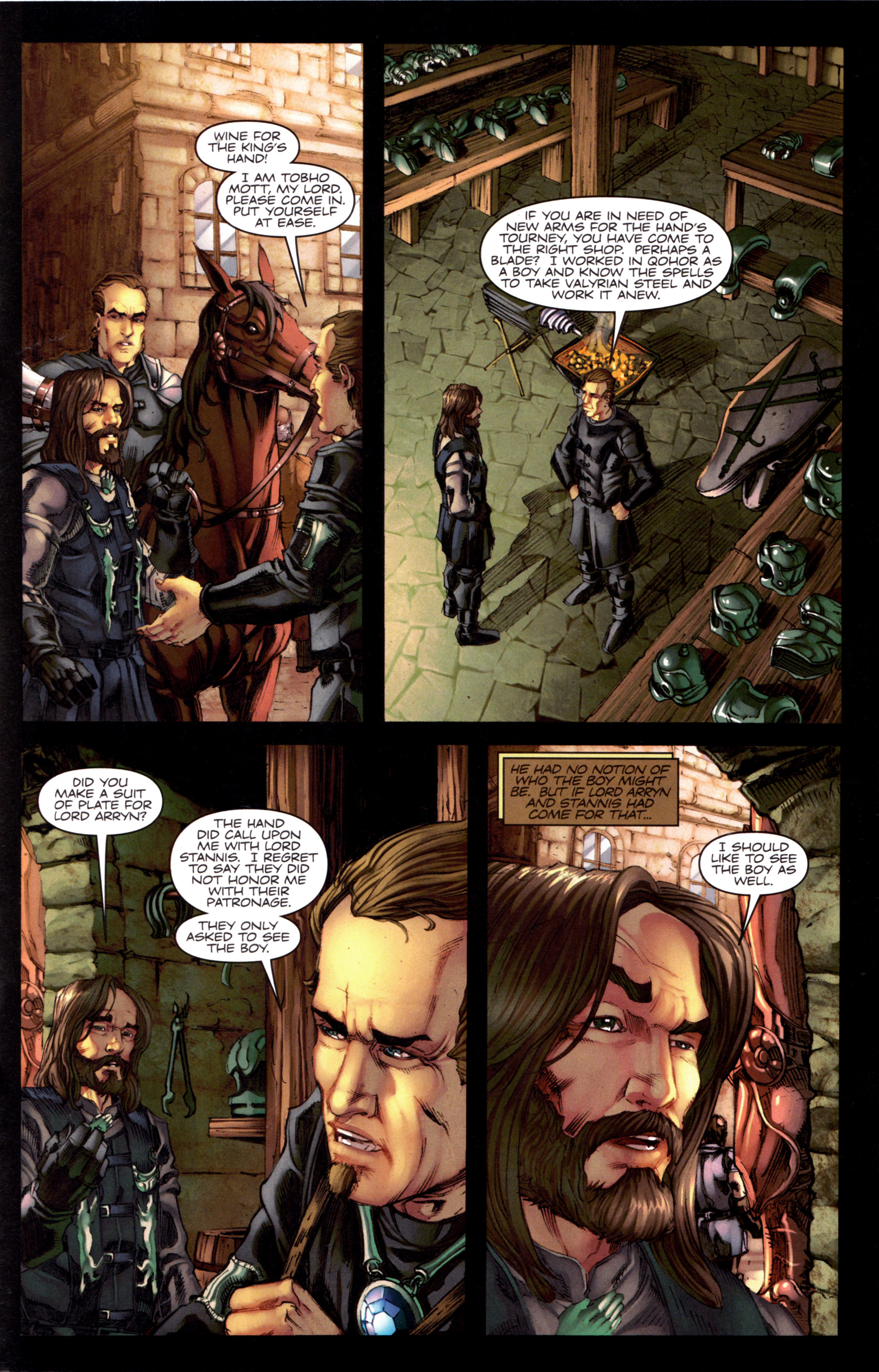 Read online A Game Of Thrones comic -  Issue #8 - 29