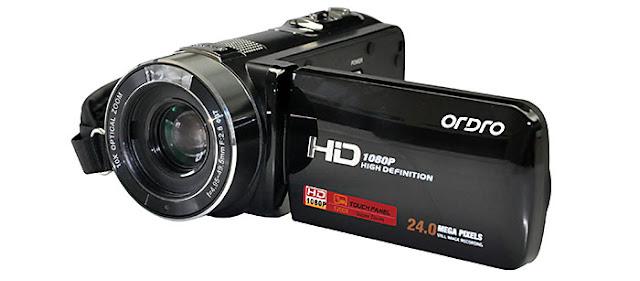 Videocámara Ordro Z80, noticias de tecnología