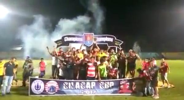 Kalahkan Bhayangkara FC, Madura United Juarai Cilacap Cup 2017