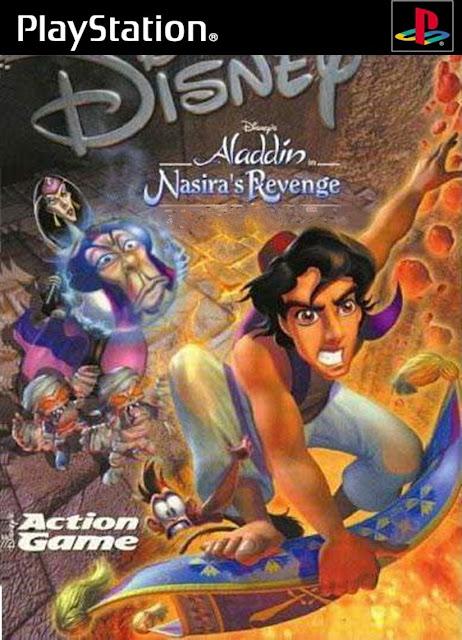 Aladdin in Nasira's Revenge ( Português ) PSX ISO
