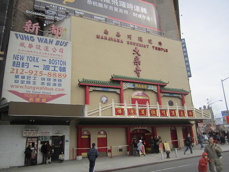 Canal Streetilla sijaitseva Mahayana Temple on suurin Chinatownin  temppeleistä 37eef7cb1b