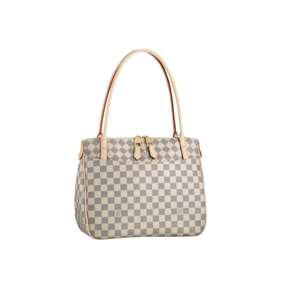 louis vuitton store in chicago. The Figheri PM is the epitome of carefree  feminine chic. Elegant Toron handles and refreshing Damier Azur Canvas are  given a ... bf8b096146b09