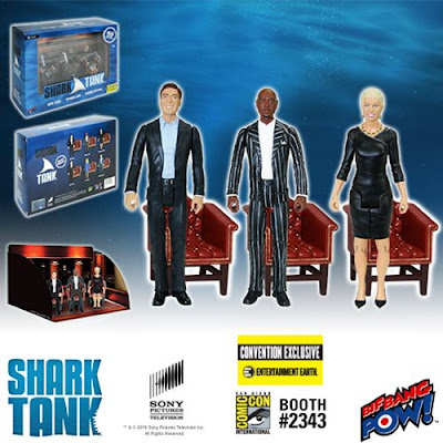 San Diego Comic-Con 2016 Exclusive Shark Tank Action Figures by Bif Bang Pow! x Entertainment Earth