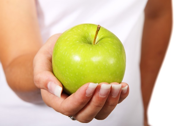 manzana dieta proteica