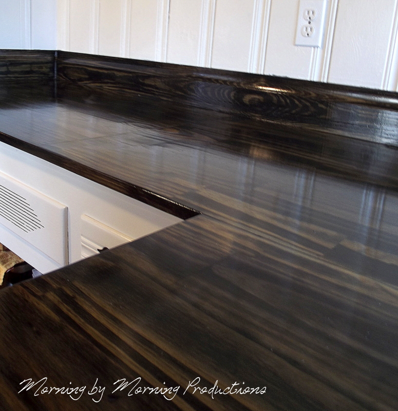 Diy Wood Kitchen Countertops: Morning By Morning Productions: DIY Kitchen Countertops