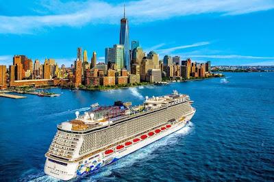 Norwegian Cruise Line's Norwegian Escape Sailing from New York - Courtesy of Norwegian Cruise Line.