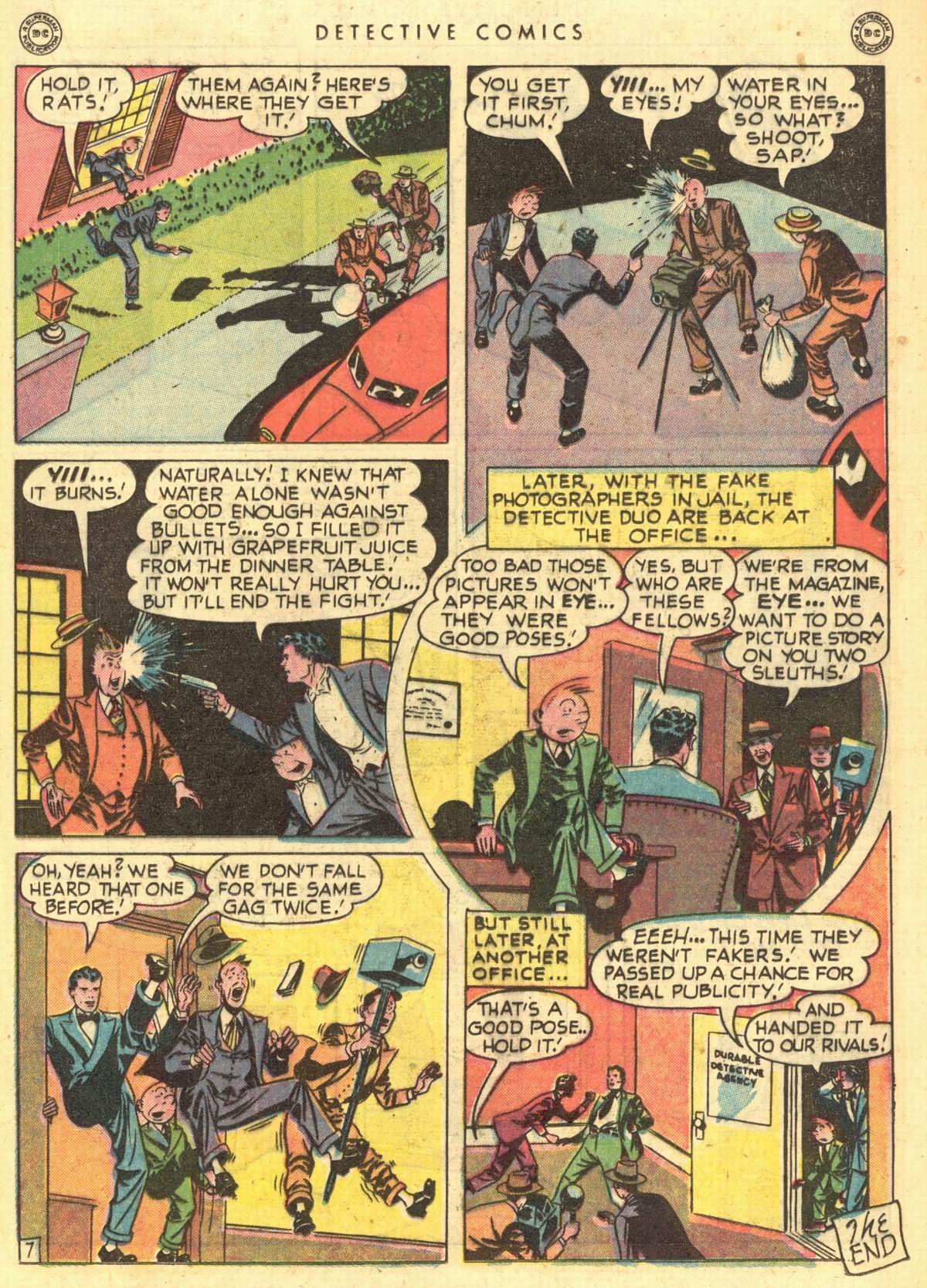 Read online Detective Comics (1937) comic -  Issue #150 - 30