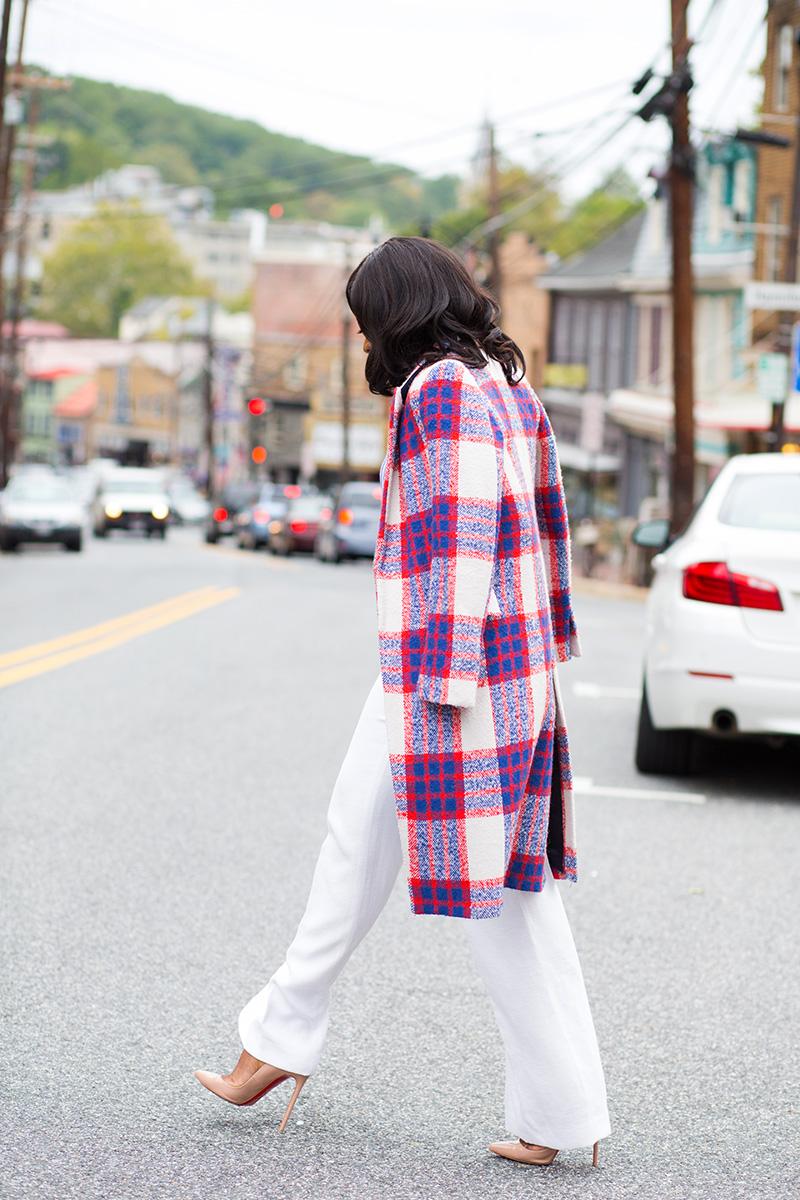 Street style, Zara statement coat, jadore-fashion.com, christian loubooutin