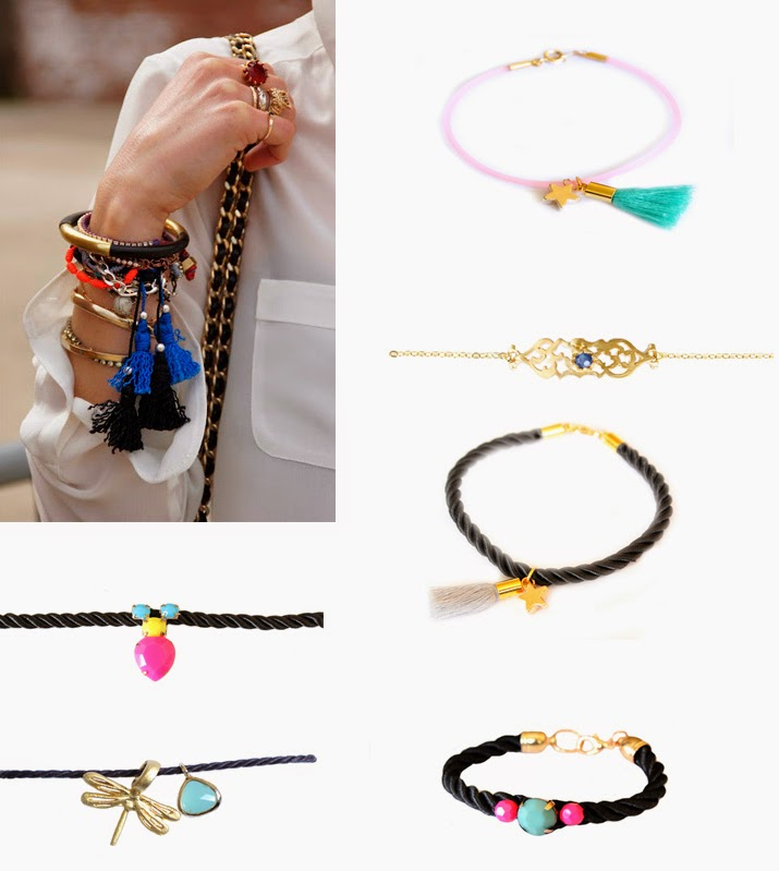 bracelets fantaisie tendance 2017