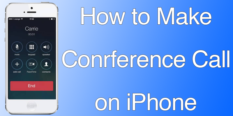 Make Conference Call on iPhone