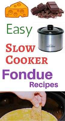 It's super fun and easy to make fondue at home in your crockpot slow cooker. Use a little dipper or a larger size to make your favorites at home with your family.