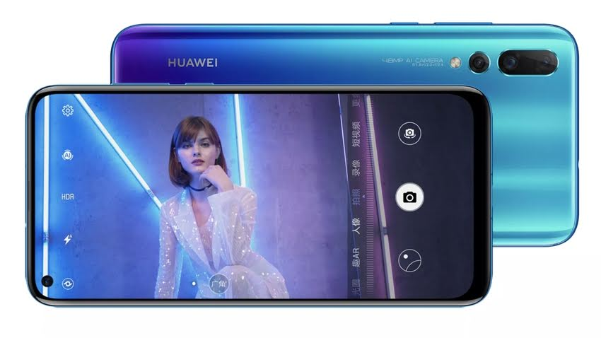 Specifications Huawei Nova 4: the flagship for young people with a camera in the display