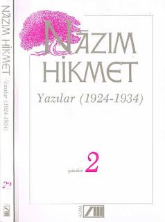 Nazım Hikmet - Bütün Eserleri 22 - Yazılar 2 - (1924-1934)
