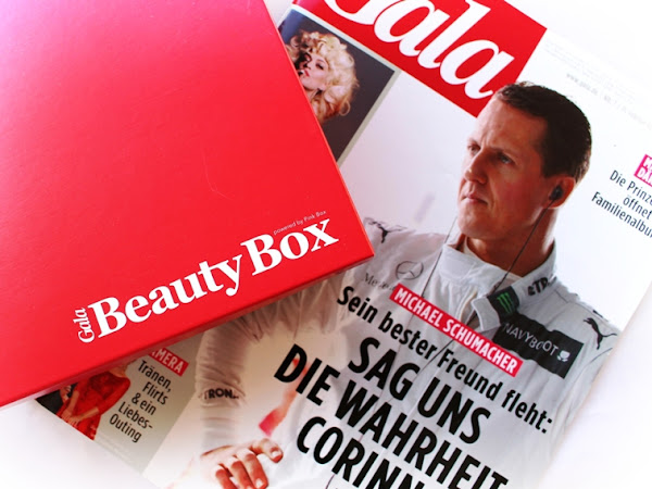 Gala Beauty Box 2016 // Roter Teppich
