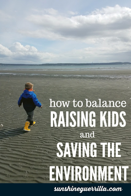 How to Balance Raising Your Kids AND Helping the Environment