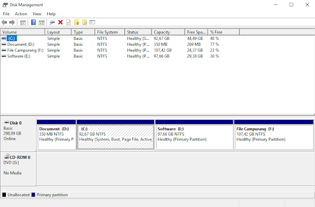 disk management partisi windows
