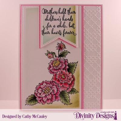 Stamp Set: Daughter's Best Friend  Embossing Folder: Cross Stitch   Custom Dies: Pierced Rectangles, Large Banners