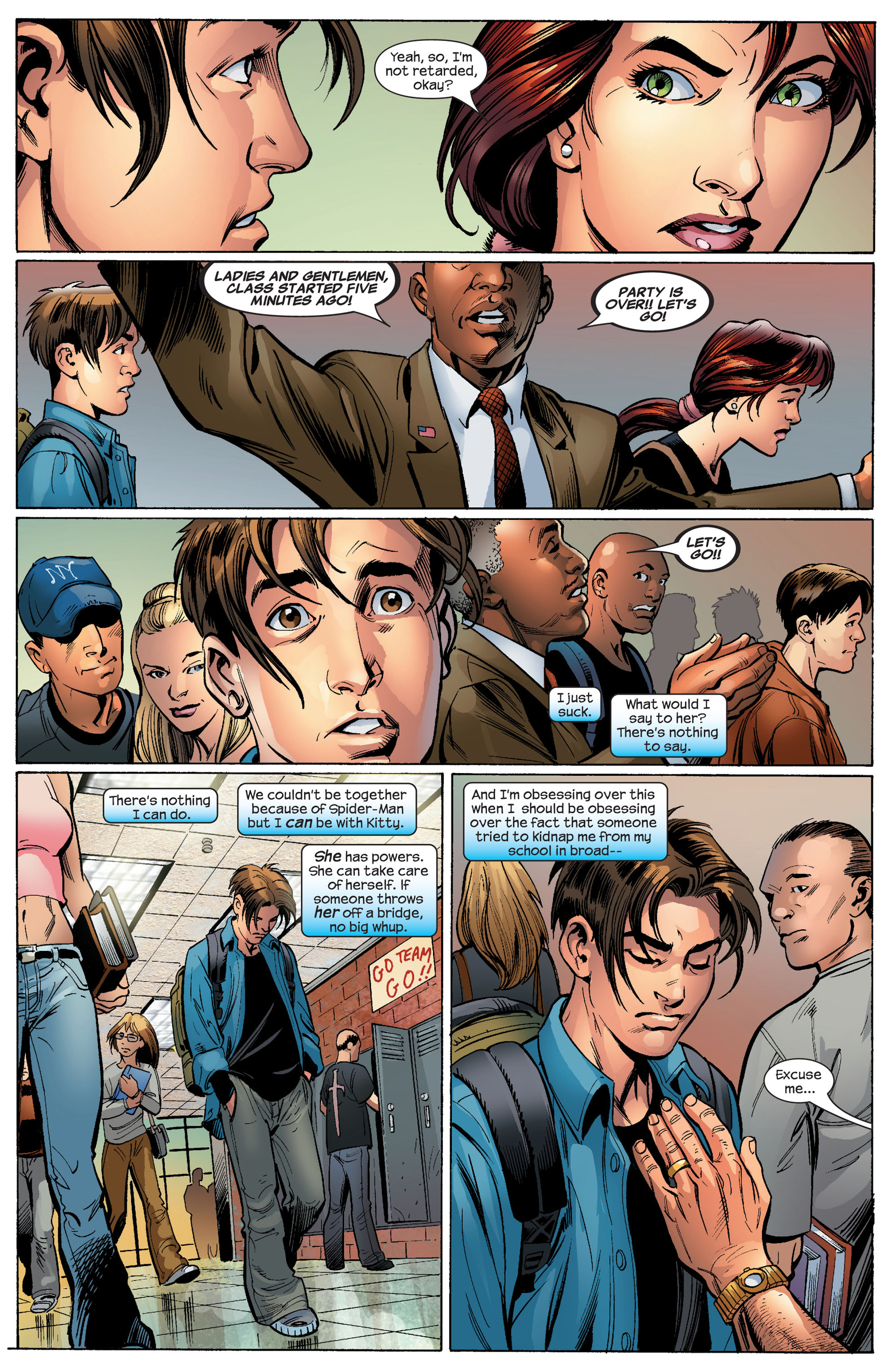 Read online Ultimate Spider-Man (2000) comic -  Issue #87 - 19