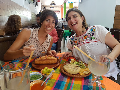 Old friends, new torta ahogado