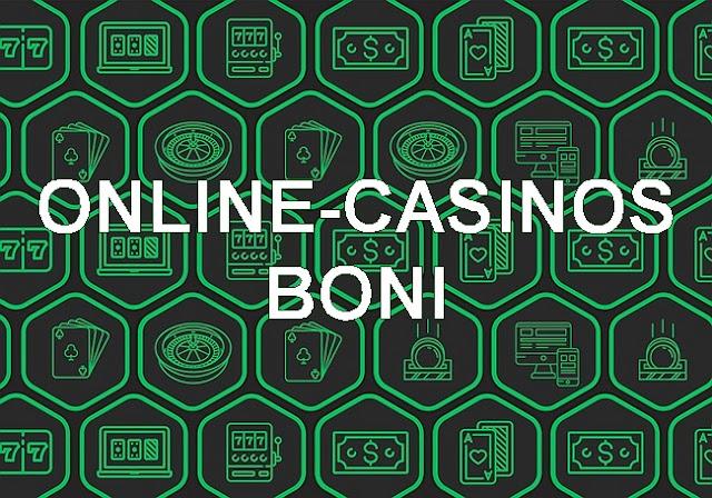 Online-Casinos Boni