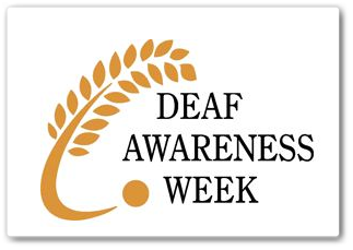 Deaf Awareness Week Logo November 2013