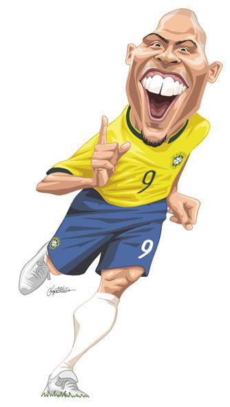8a989f991e0e3 Ronaldo vestiu a camisa da seleção brasileira 134 vezes