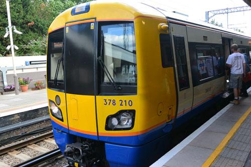 Acton Central Station, London Overground, UK