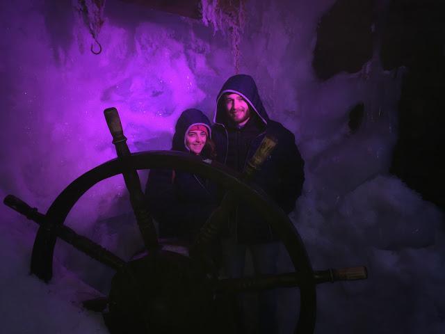 Ice Bar Amsterdam Ice pirate ship