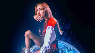 Foto Rosé Black Pink di MV Whistle