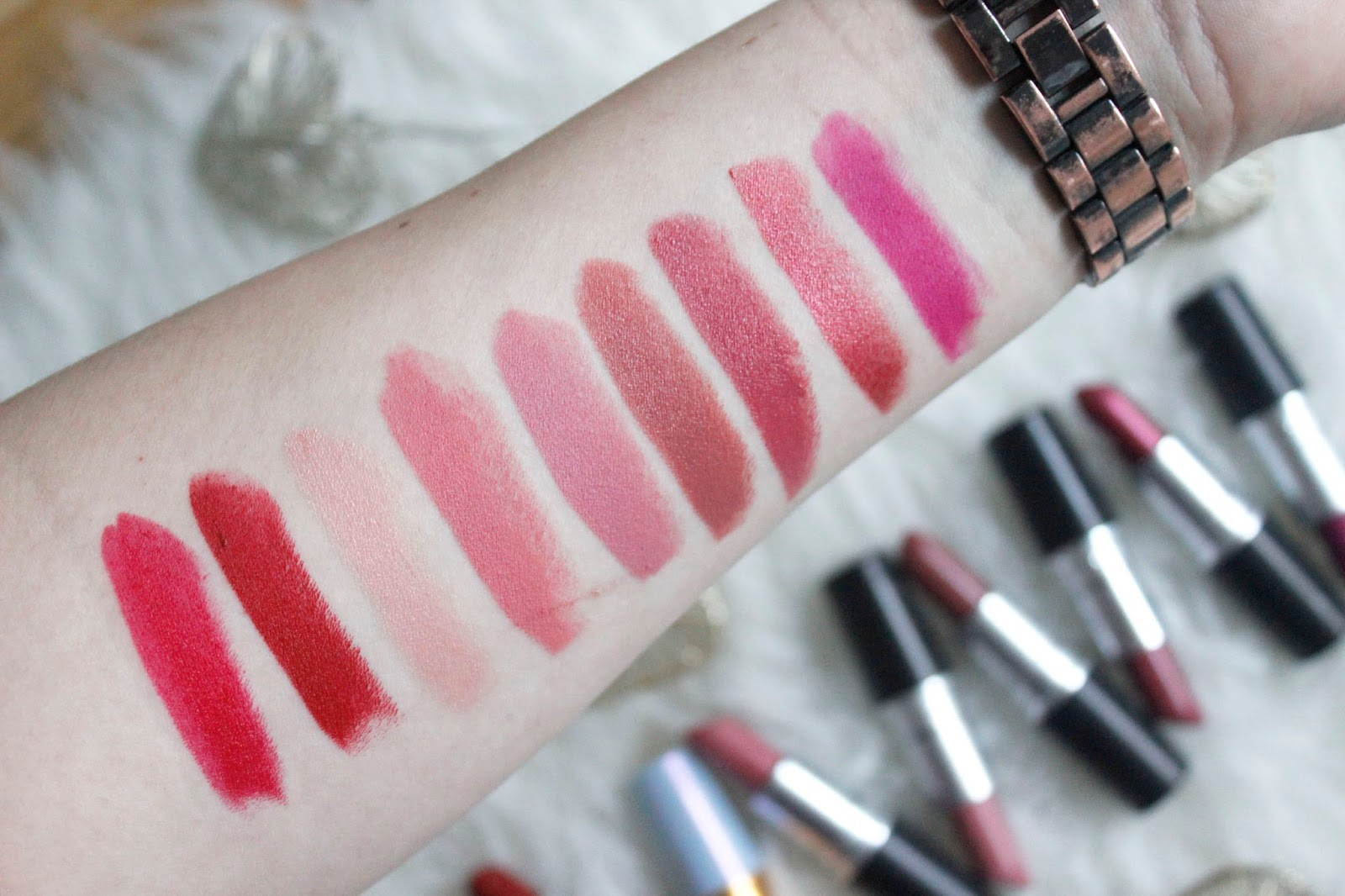 MAC Lipstick Collection. | Sarahlaublogs