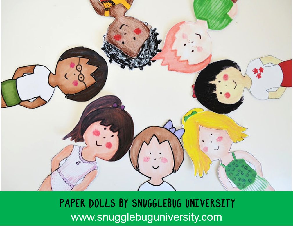 Snugglebug University Fairy Tale Paper Dolls And A Free Paper Doll Printable Too