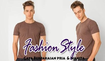 Model Baju Kaos Pria Lengan Pendek Sepia T-Shirt SS by SS