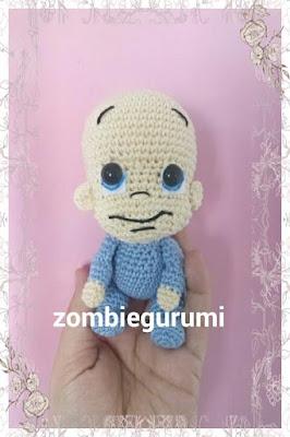 baby amigurumi