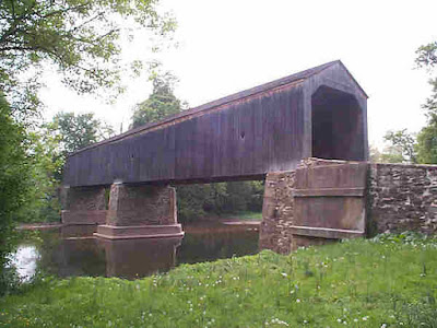 Schofield Covered Bridge in Tyler State Park