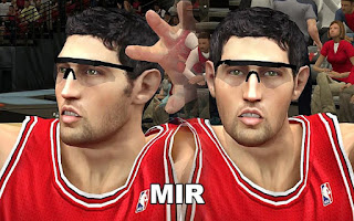 NBA 2K13 Chicago Bulls Cyber Face Pack Mods
