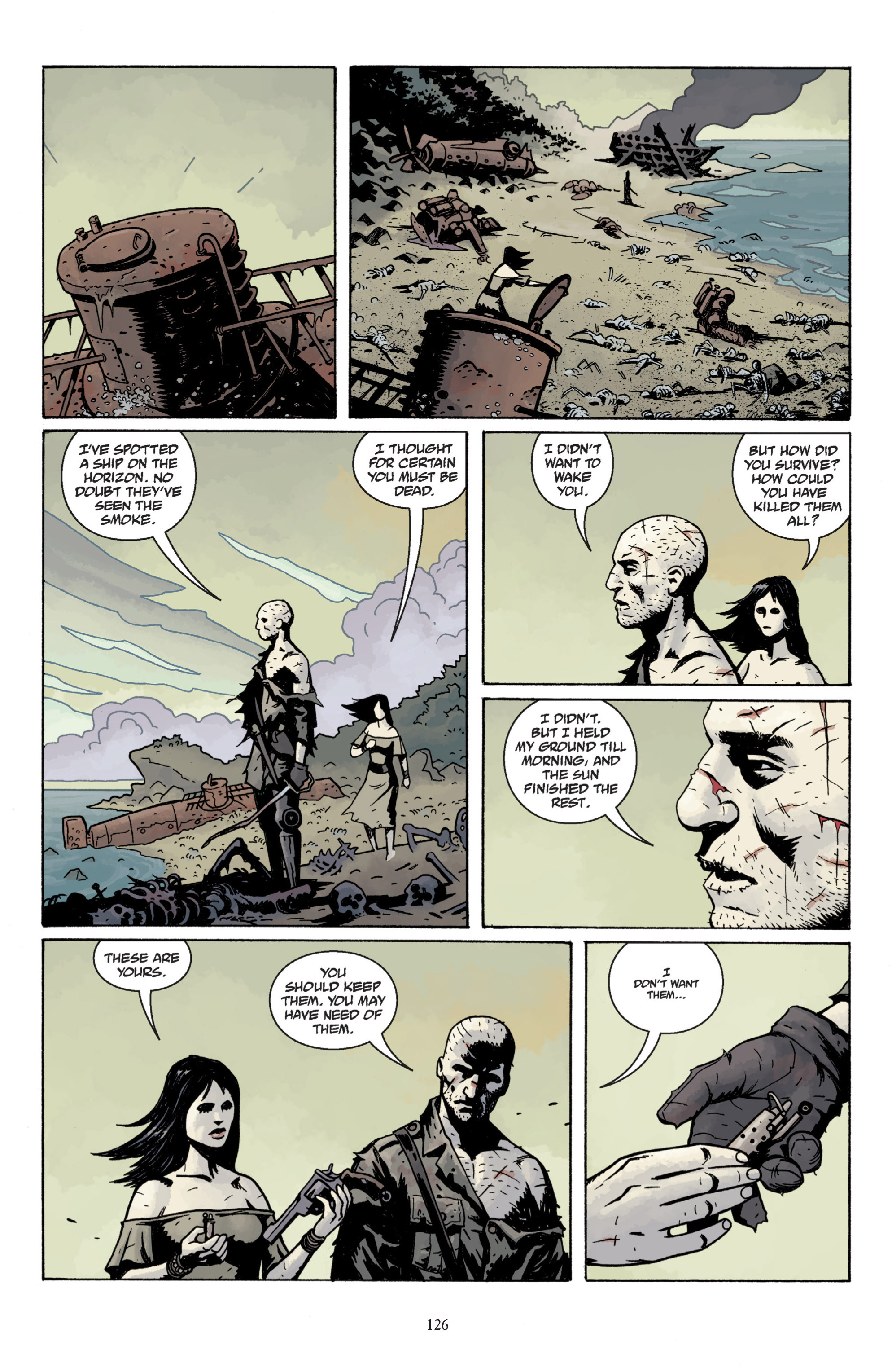 Read online Baltimore: The Plague Ships comic -  Issue # TPB - 125