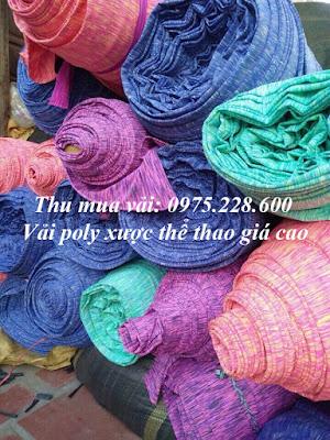 Thu mua vải polyester