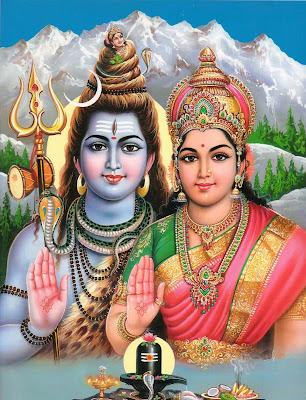 shiv-parvati-drawing-wallas