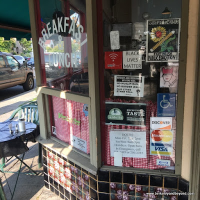 exterior of Homemade Cafe in Berkeley, California