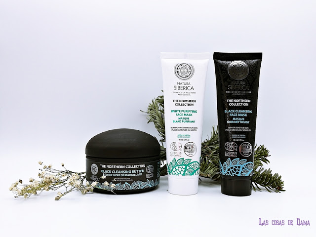 Natura Siberica The Northern Collecction Black  White limpieza facial cosmética natural beauty belleza