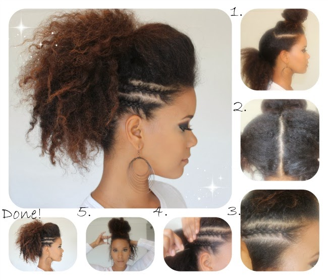 Coiffure Cheveux Afro Courts - Coiffure afro femme le guide complet Puretrend