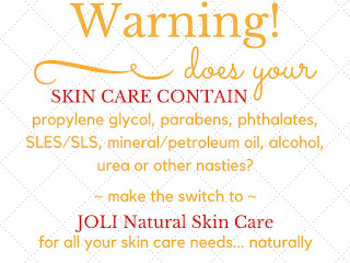 joli natural toxic free skin care