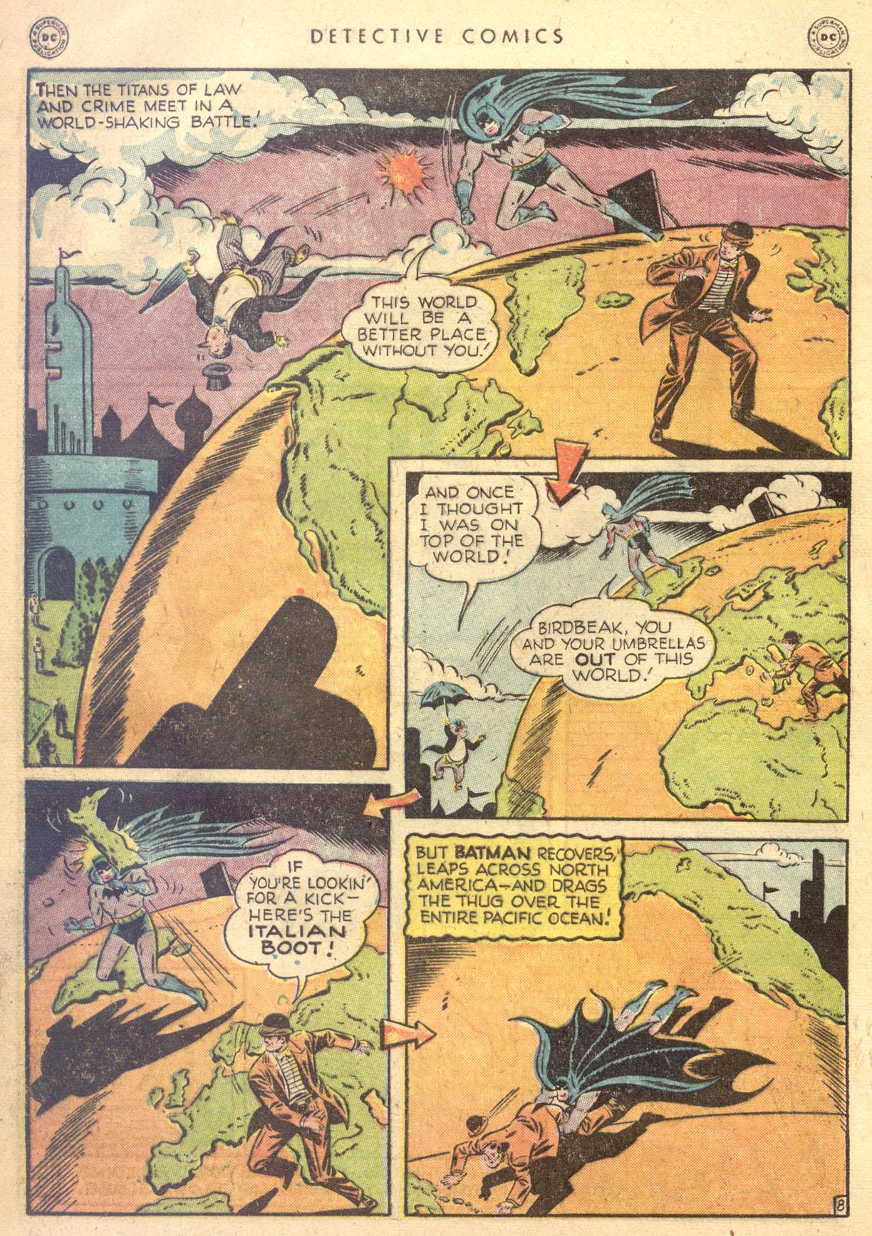 Read online Detective Comics (1937) comic -  Issue #134 - 10